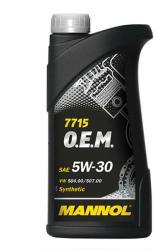 MANNOL 7715 O.E.M. for VW Audi Skoda 5W-30 (1L)