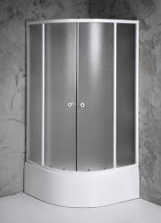SAPHO Aqualine Amichetta 80x80x150 cm íves (E83)