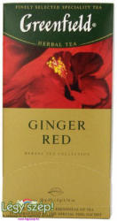 Greenfield Ginger Red Tea 25 filter