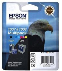 Epson T007 & T008 Multipack