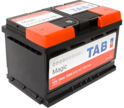 TAB Magic 75Ah 720A Jobb+