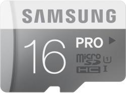 Samsung microSDHC Pro 16GB Class 10 UHS-1 MB-MG16D