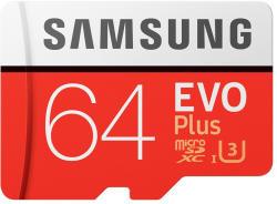 Samsung EVO+ microSDXC 64GB UHS-I Class 10 (MB-MC64DA/EU)