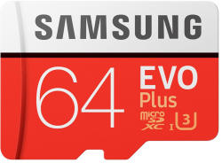 Samsung EVO Plus microSDXC 64GB UHS-I MB-MC64DA