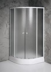 SAPHO Aqualine Amica 80x80x185 cm íves (E80)