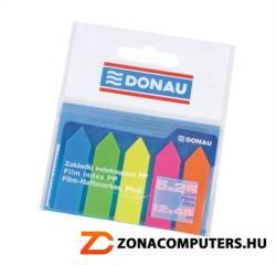 Donau Nyíl forma műanyag jelölőcímke lap 12x45 mm neon szín (D7556)