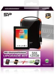 "Silicon Power S55 Slim 2.5"" 120GB SATA3 SP120GBSS3S55S27"