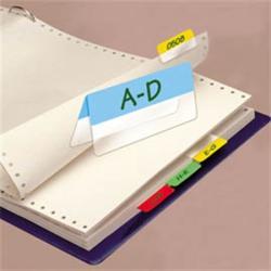 3L Kétoldalas ikercímke műanyag jelölő 4x6 lap 12x40 mm vegyes (3L10532)