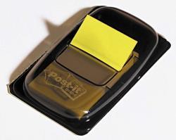3M Műanyag jelölőcímke 50 lap 25x43 mm sárga (LPJ6805)