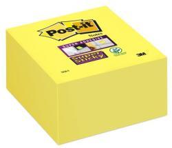 3M Super Sticky öntapadó jegyzettömb 76x76 mm 350 lap sárga (LP2028SS)