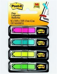Nyíl műanyag jelölőcímke 4x24 lap 11,9x43,2 mm vegyes (LPJ684ARR4)