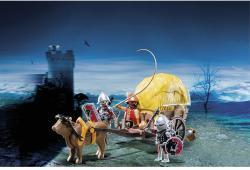 Playmobil Sas lovagok ökrös szekere (6005)