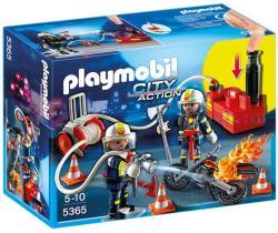 Playmobil Tűzoltók a vízszivattyúval (5365)
