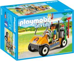 Playmobil Állatkerti takaritó autó (6636)