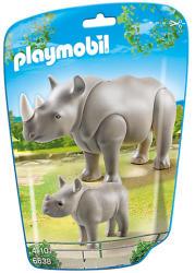 Playmobil Orszarvú a kicsijével (6638)
