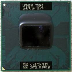 Intel Core 2 Duo T5200 1.6GHz Socket M