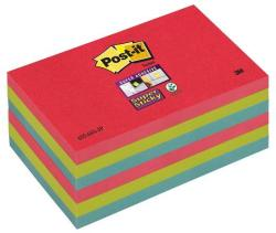 3M Super Sticky öntapadó jegyzettömb 76x127 mm 90 lap pipacs (LP6556SJP)