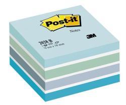 3M Önatapadó jegyzettömb 76x76 mm 450 lap aquarell kék (LP2028B)