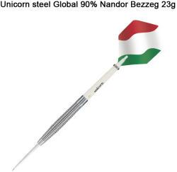 Unicorn Global 90% steel Nandor Bezzeg 23g