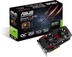 ASUS GeForce GTX 960 DirectCU II OC 2GB GDDR5 128bit PCIe (GTX960-DC2OC-2GD5-BLACK)