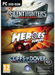 Ubisoft Silent Hunter 5 + Heroes Over Europe + IL-2 Sturmovik Cliffs of Dover (PC)
