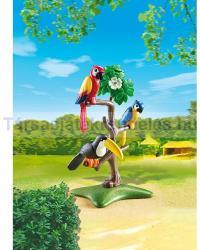 Playmobil Papagájok És Tukán (6653)