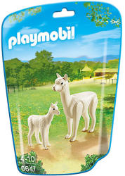 Playmobil Láma a kicsijével (6647)