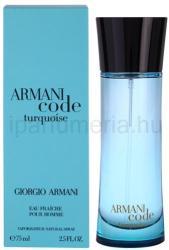 Giorgio Armani Armani Code Turquoise pour Homme EDT 75ml