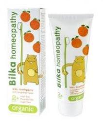 BilkaDent Organic - Homeopátiás fogkrém gyerekeknek 2 éves kortól - mandarin (50ml)