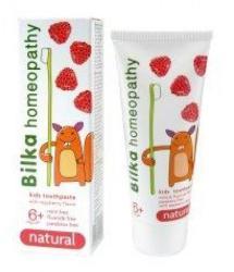 BilkaDent Natural - Homeopátiás fogkrém gyerekeknek 6 éves kortól - málna (50ml)