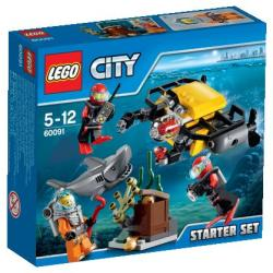 LEGO City - Mélytengeri kezdőkészlet (60091)