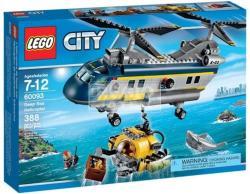 LEGO City - Mélytengeri helikopter (60093)