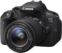 Canon EOS 700D + 18-55mm IS STM + 75-300mm DC III