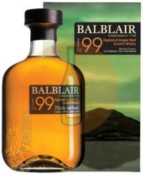 BALBLAIR 1999 Vintage Whiskey 0,7L 46%