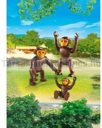 Playmobil Csimpánz család (6650)