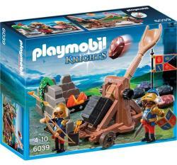 Playmobil Oroszlános lovagok kőhajító katapulttal (6039)