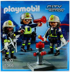 Playmobil Három tűzoltó (5366)