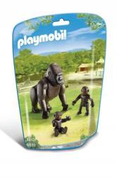 Playmobil Gorilla a kicsinyeivel (6639)