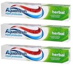 Aquafresh Triple Protection Herbal (3x125ml)