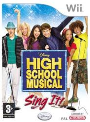 Disney High School Musical Sing It! [Microphone Bundle] (Wii)