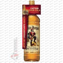 Captain Morgan Spiced Gold ajándék pumpa 3L (35%)