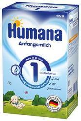 Humana 1 600g (Tejalapú Anyatej Helyettesítő Tápszer Újszülött Kortól)