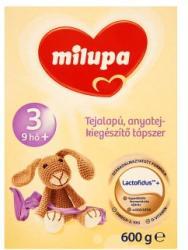 Milupa 3 Natúr 600g (Anyatej-kiegészítő Tápszer 9 Hónapos Kortól)