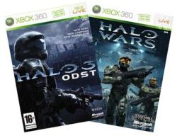 Microsoft Halo 3 ODST+ Halo Wars (Xbox 360)