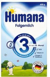 Humana 3 natúr 600g (Anyatej-kiegészítő Tápszer 10 hónapos kortól)