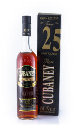 Cubaney Tesoro Grand Reserve 25 Years 0.7L (38%)
