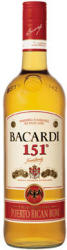 BACARDI 151° 1L (75.5%)