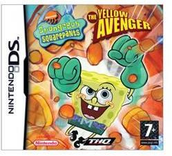 THQ Spongebob Squarepants The Yellow Avenger (Nintendo DS)