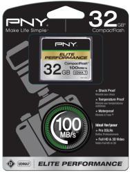 PNY CF Elite Performance 32GB CF32GELIPER-EF