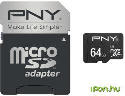 PNY Turbo Performance 64GB MicroSDXC UHS-III (SDU64GTURPER80-EF)